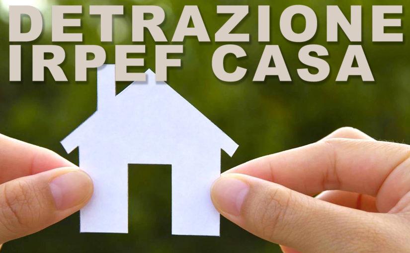 La detrazione Irpef per le spese di ristrutturazione della casa