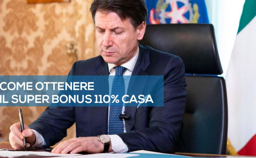 come ottenere il SUPERBONUS 110% Casa a Pisa.